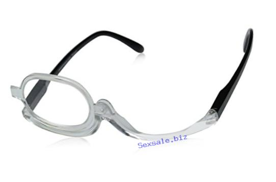 Peepers Makeup Glasses Oval Reading Glasses,Clear,+2.5