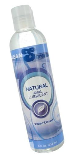 Water-based Natural Lube,  8 Ounce