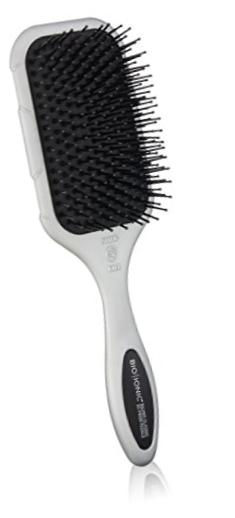 BIO IONIC Silver Classic Nanoionic Conditioning Brush, Paddle