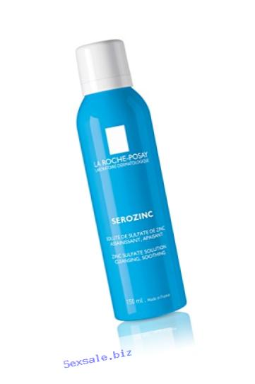 La Roche-Posay Serozinc Mattifying Facial Toner Spray for Oily Skin with Zinc, 5 Fl. Oz.