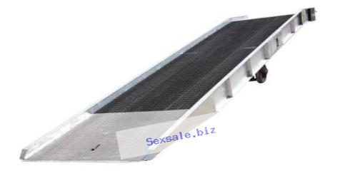 Vestil SY-259336-L Aluminum Yard Ramp with Steel Grating, 25000 lb., 432