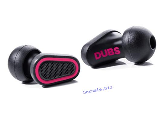 DUBS Noise Cancelling Music Ear Plugs: Acoustic Filters High Fidelity Hearing Protection