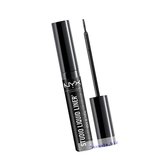 NYX Studio Liquid Liner,SLL102 Extreme Black, 1 Count