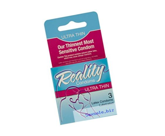bulk buys Reality Ultra Thin Latex Condoms