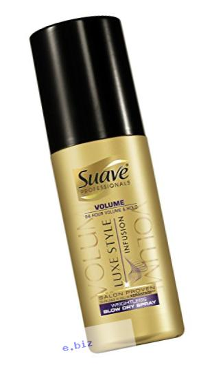 Suave Professionals Weightless Dry Spray, Luxe Style