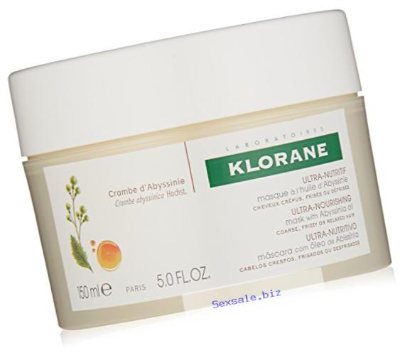 Klorane Mask with Abyssinia Oil - Coarse, Brittle, Frizzy Hair