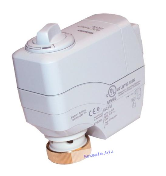 Siemens SSC81.5U Electronic Valve Actuator with Floating Control and Spring Return