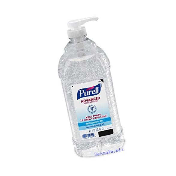 PURELL Advanced Instant Hand Sanitizer - 2L Pump Bottle, Original – 1 Bottle