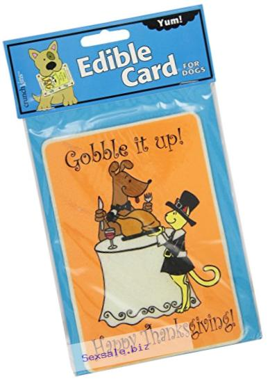 Crunchkins Edible Crunch Card, Gobble It Up Happy Thanksgiving