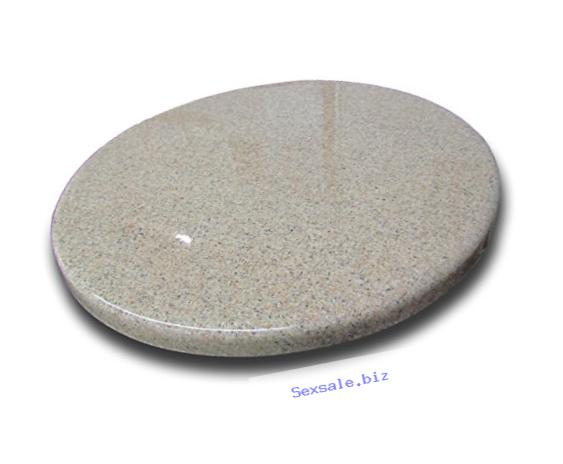 Arstar, Lazy Susan Turntable, 16 inches, Granite, Sandy Beach
