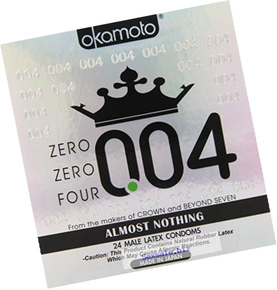 Okamoto 0.04 Zero Zero Four Condoms 24 pack