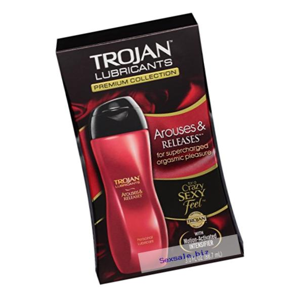 Trojan Lubricants Arouses And Releases, 3 Oz