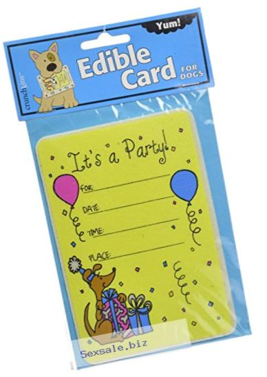 Crunchkins Edible Crunch Card, Birthday Party Invitation