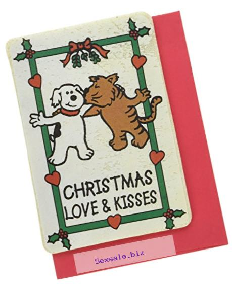 Crunchkins Crunch Edible Card, Christmas Love and Kisses