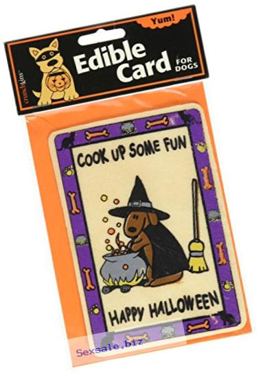 Crunchkins Crunch Edible Card, Cook Up Some Fun, Happy Halloween