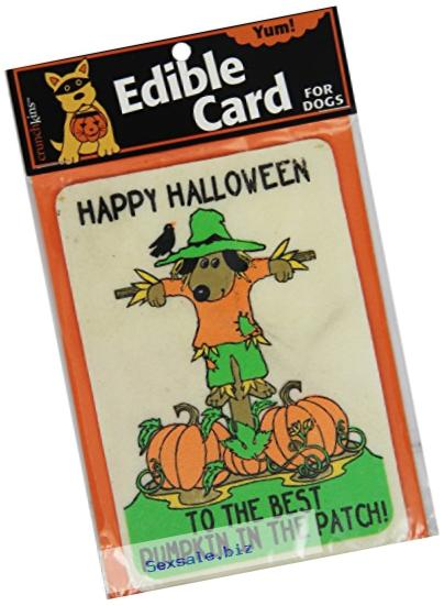 Crunchkins Crunch Edible Card, Happy Halloween, Best Pumpkin in Patch