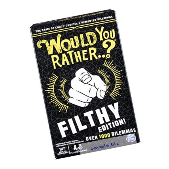 Spin Master Games - Would You Rather…? Filthy Edition